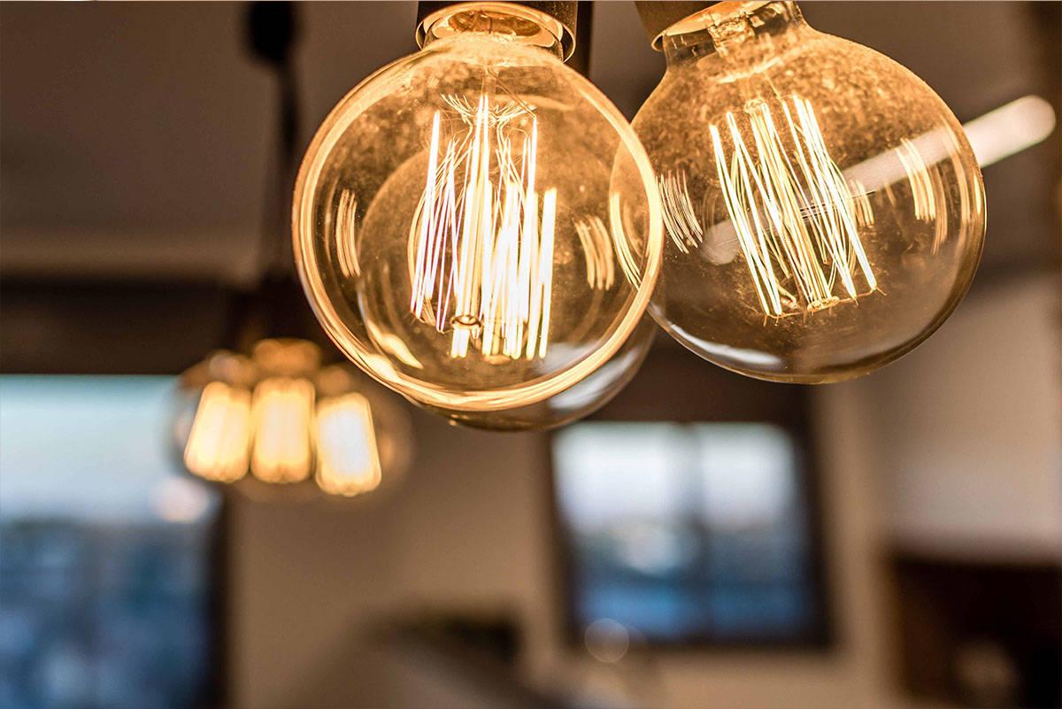 מנורות פחם המפיצות אור נעים - שירית דרמן מעצבת פנים ויועצת תאורה